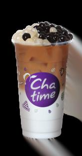 Brown Sugar Pearl Tea Latte